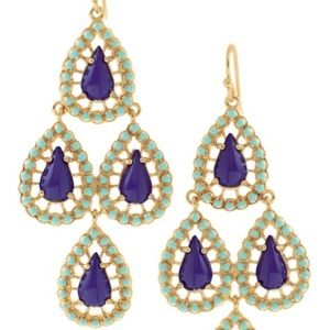 Stella & Dot Jewelry - Seychelles chandelier earrings